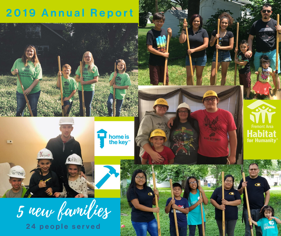 2019 Annual Report - Families
