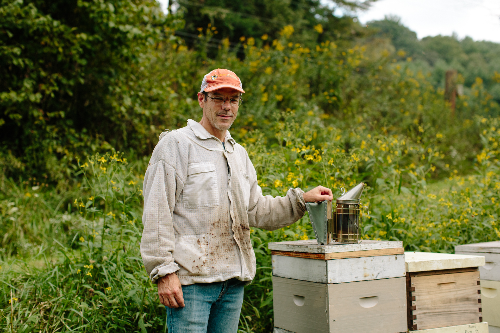 Wise and Otherwise: Honey Bees and Hive Tracks with James Wilkes of Faith Mountain Farm