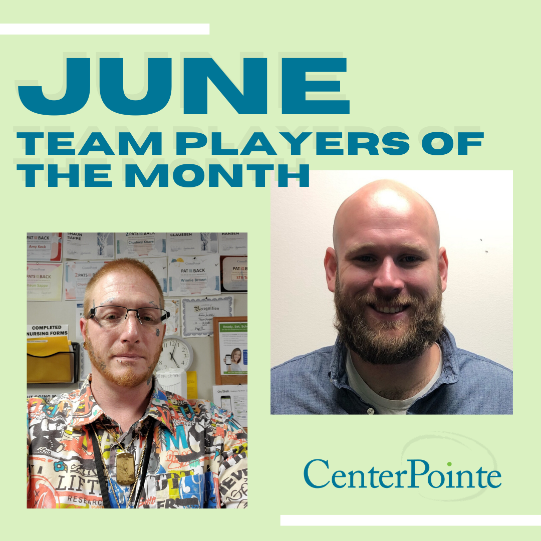June 2020 Team Players of the Month