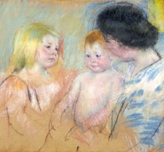 Sara and Her Mother with the Baby (No. 1)
