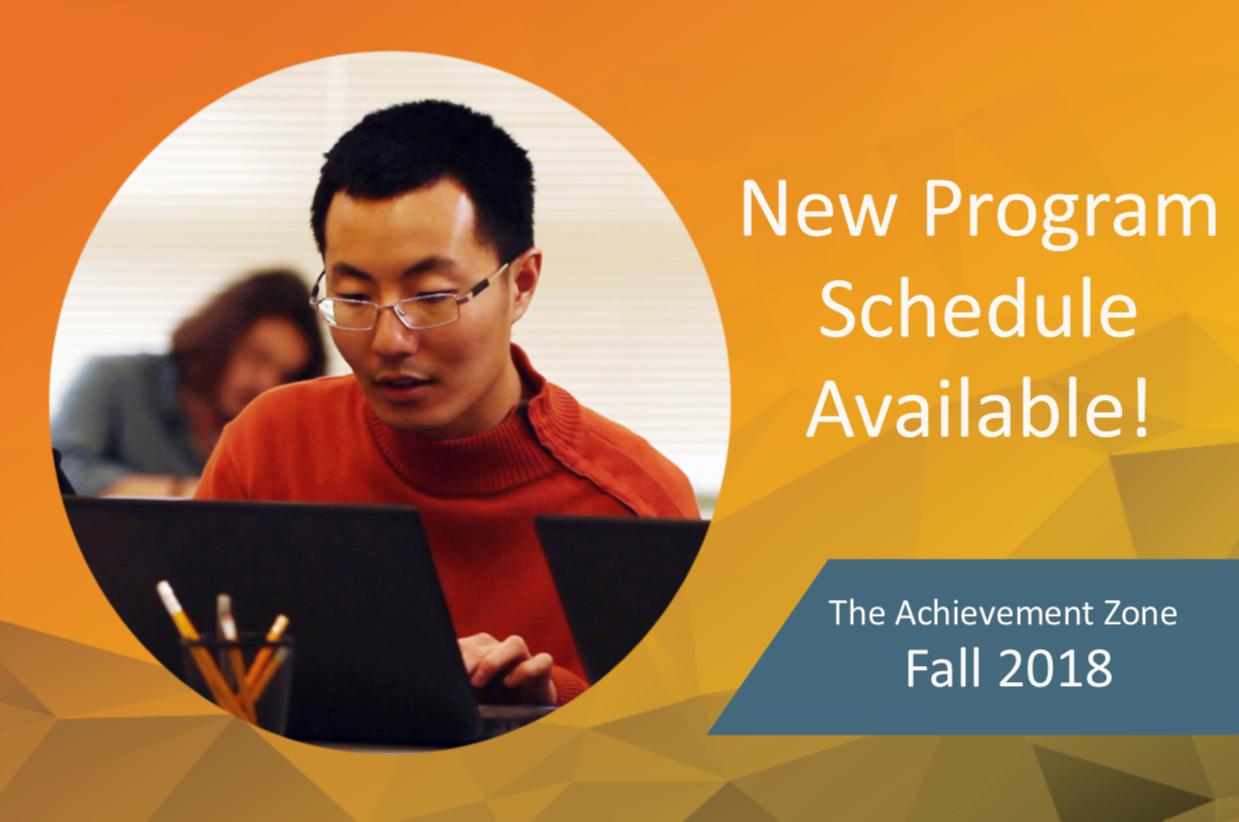 TAZ: Fall 2018 Program Offerings