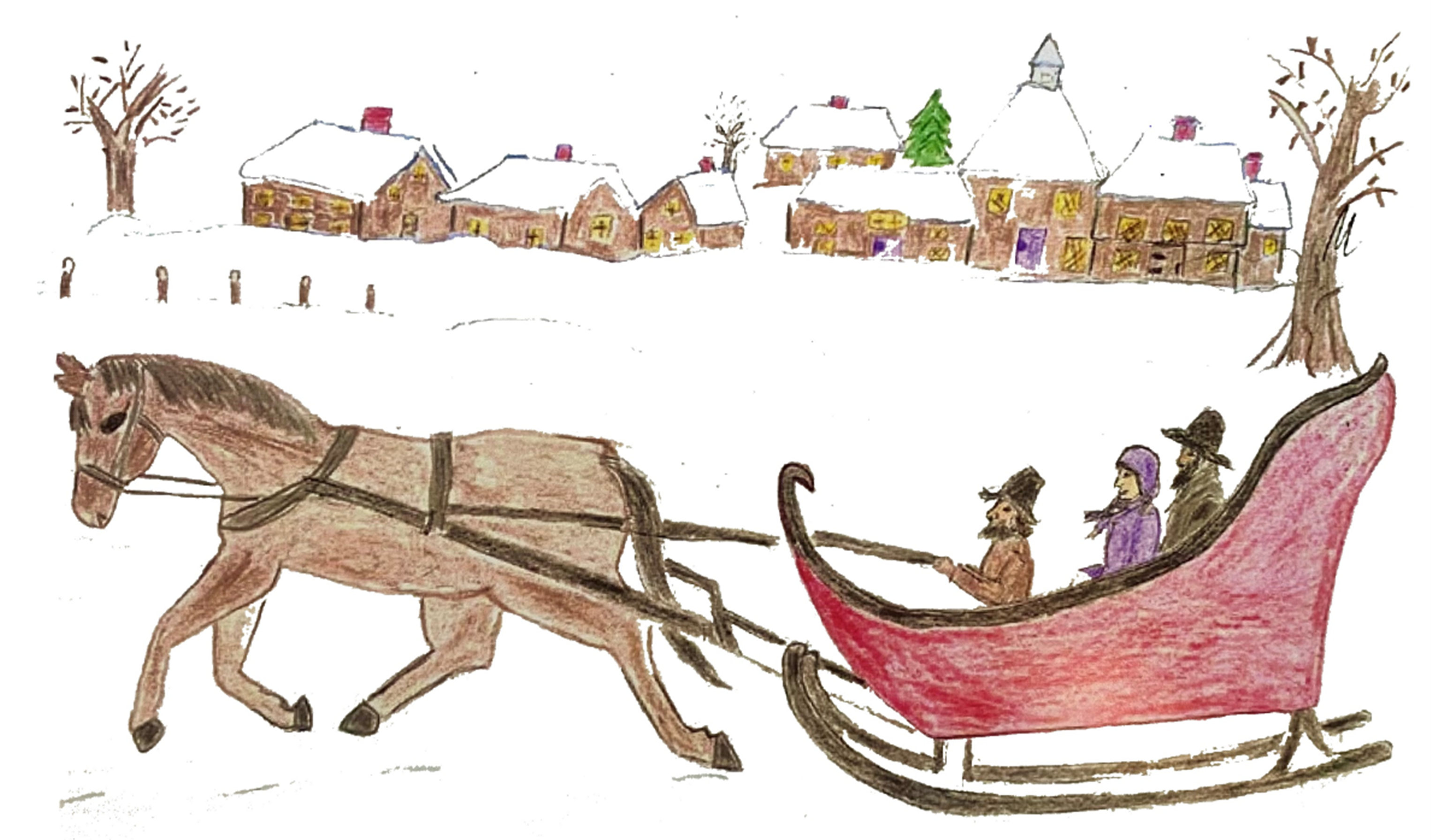 Featuring Sleigh Rides in Webb State Park