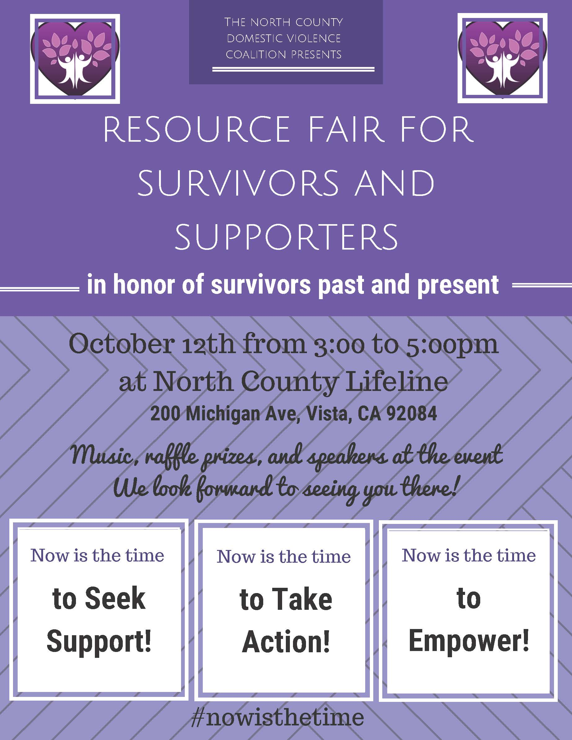 North County Resource Fair for Survivors & Supporters
