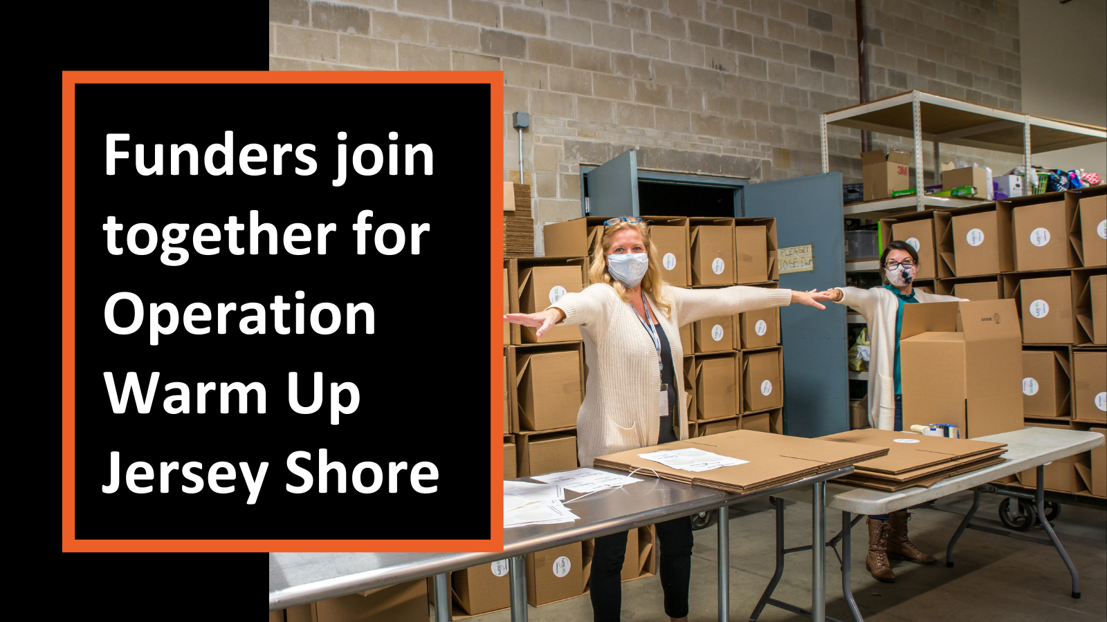 Funders Join Together for Operation Warm Up Jersey Shore