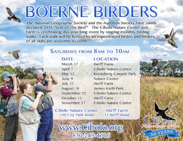 FARM: Boerne Birders
