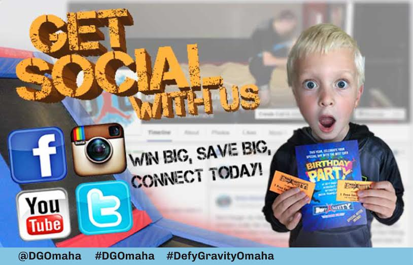 Get Social With Defy Gravity
