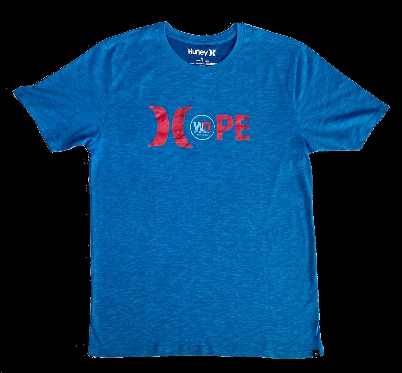 WN/Hurley Hope Royal Blue Unisex Premium Dri-Fit T-Shirt