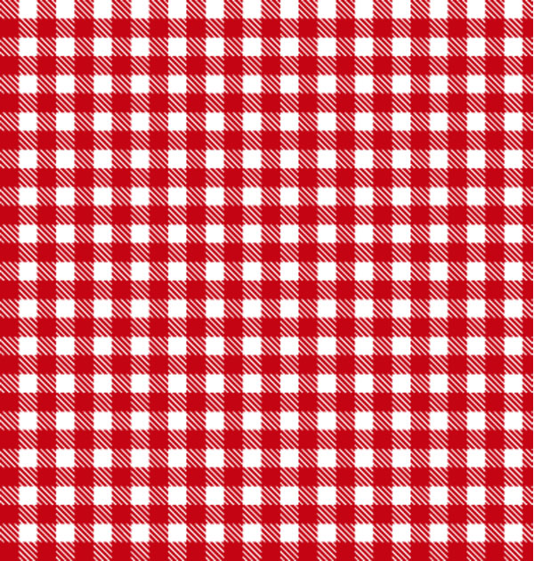 Red and White Checks Wallpaper