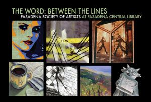 Pasadena Central Library - The Word: Between the Lines