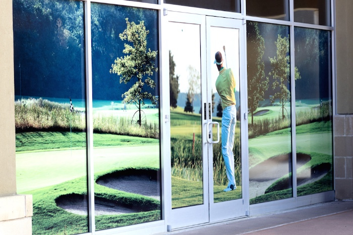 Mall Storefront Window Graphics