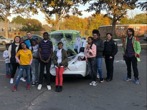 Trunk or Treat with the New Haven Police Department
