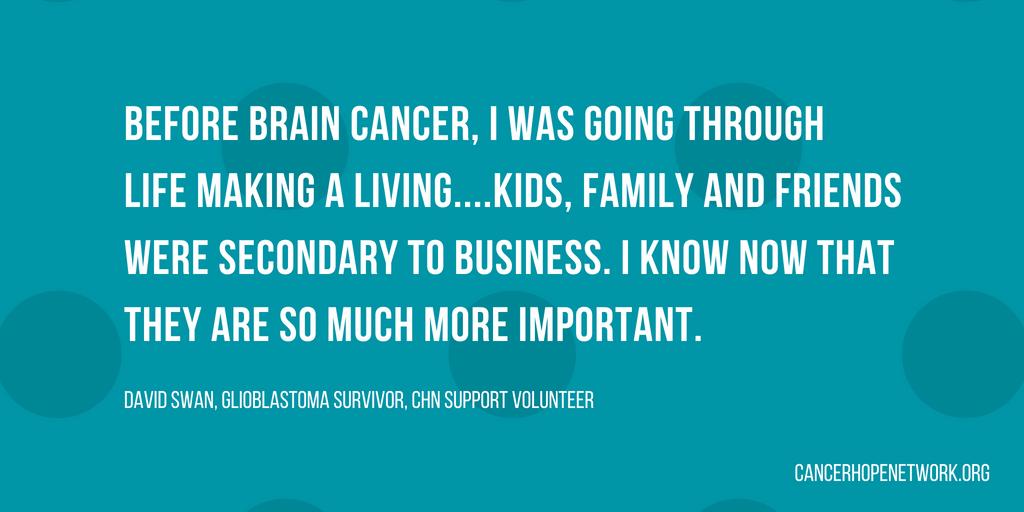 Meet David: Glioblastoma Survivor