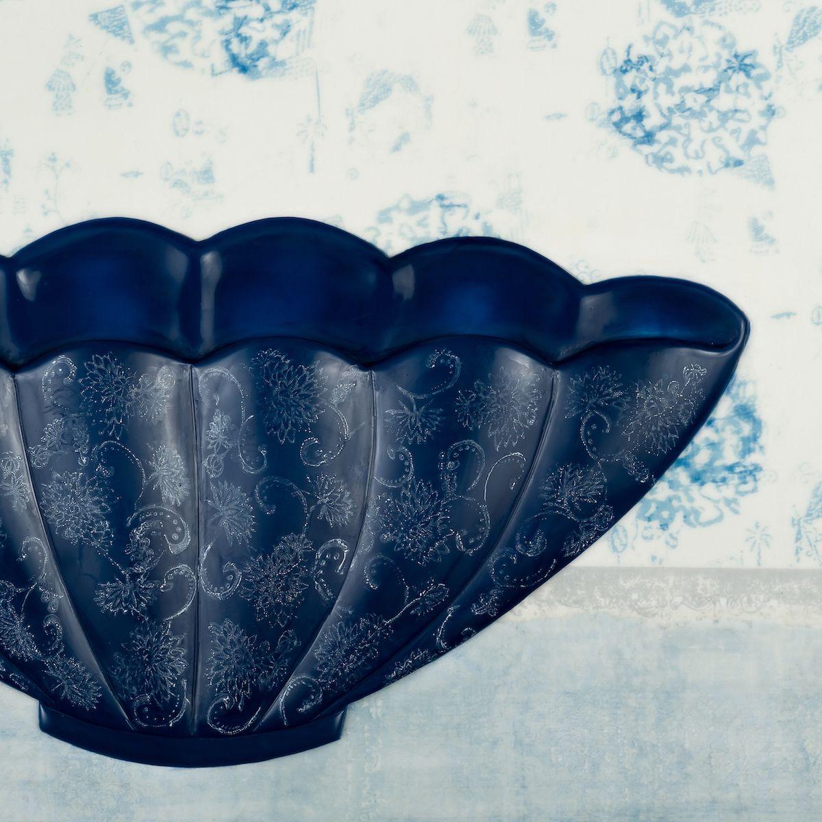 Blue Bowl (partial image)