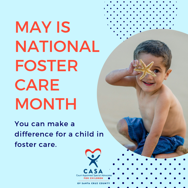 Support National Foster Care Month