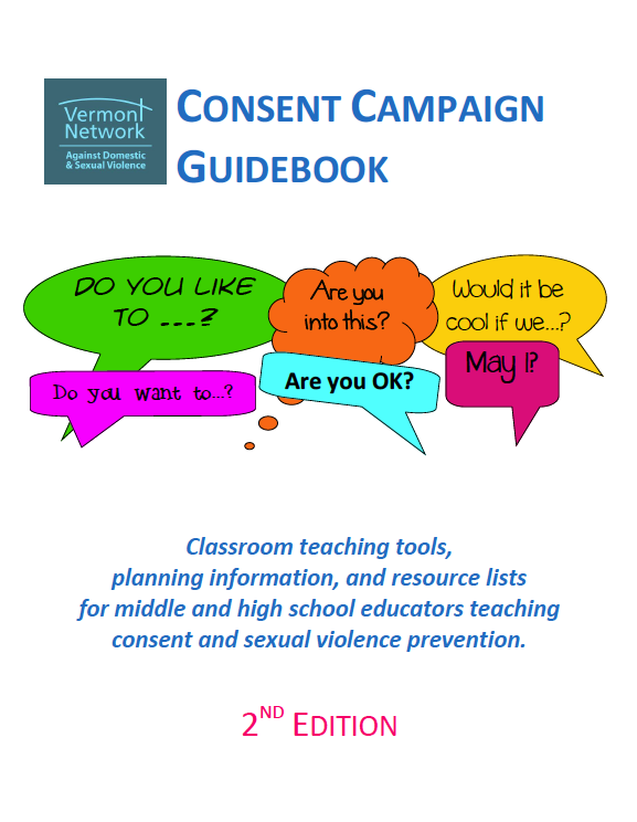Vermont Consent Campaign Guidebook