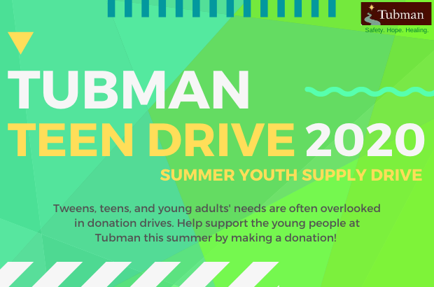 Tubman Teen Drive 2020