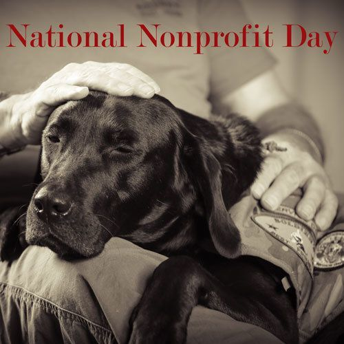 Today is National Nonprofit Day!