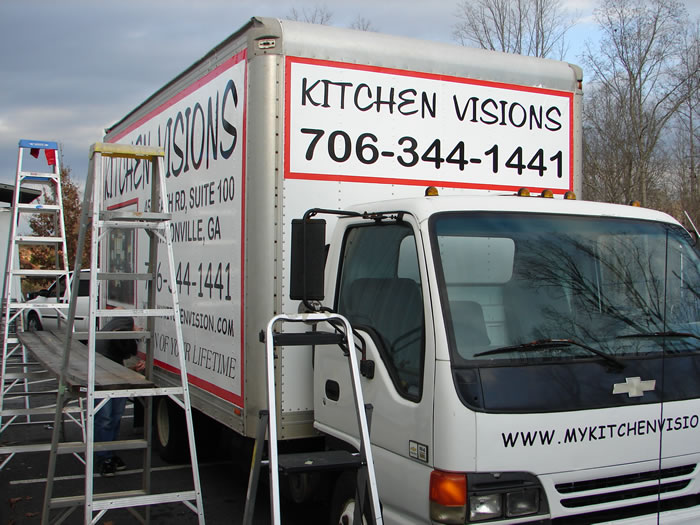 Kitchen Visions Truck Wrap Front