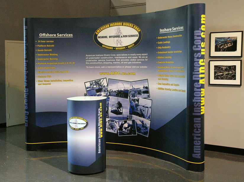 Pop-up Exhibit Systems and Graphics