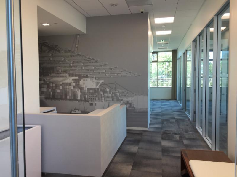 Real Estate Office Wall Murals | Newport Beach CA