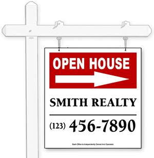 Hanging Real Estate Signs