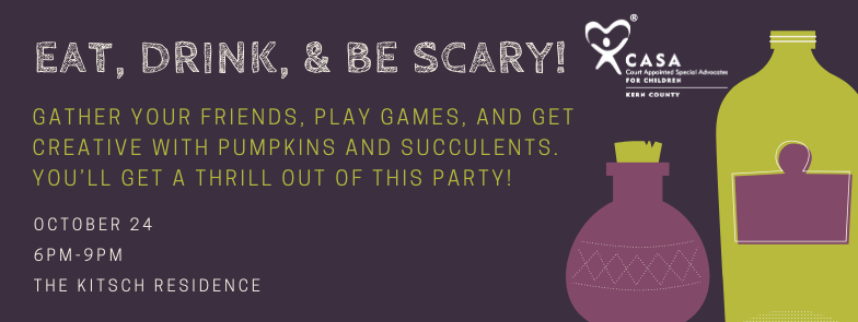 (CANCELLED) Eat, Drink, & Be Scary