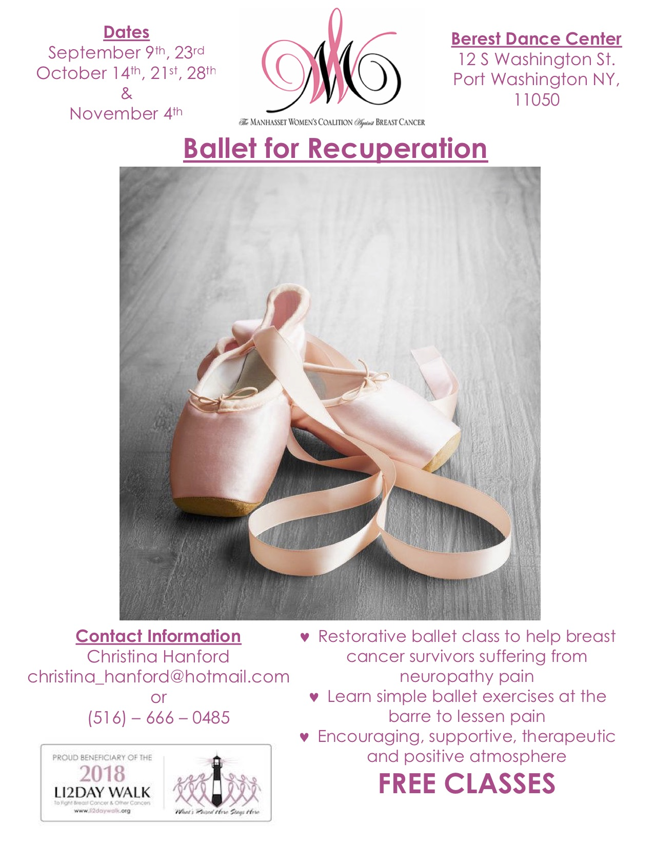 Ballet for Recuperation