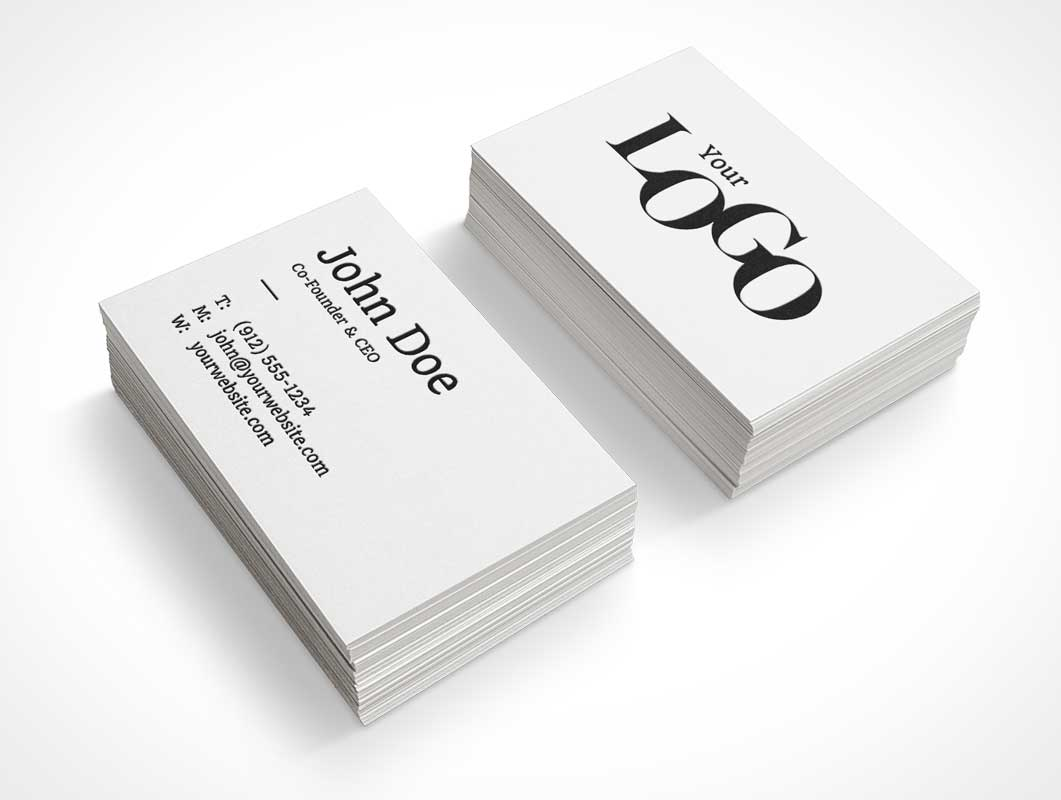 Business Cards - 130# Full Color