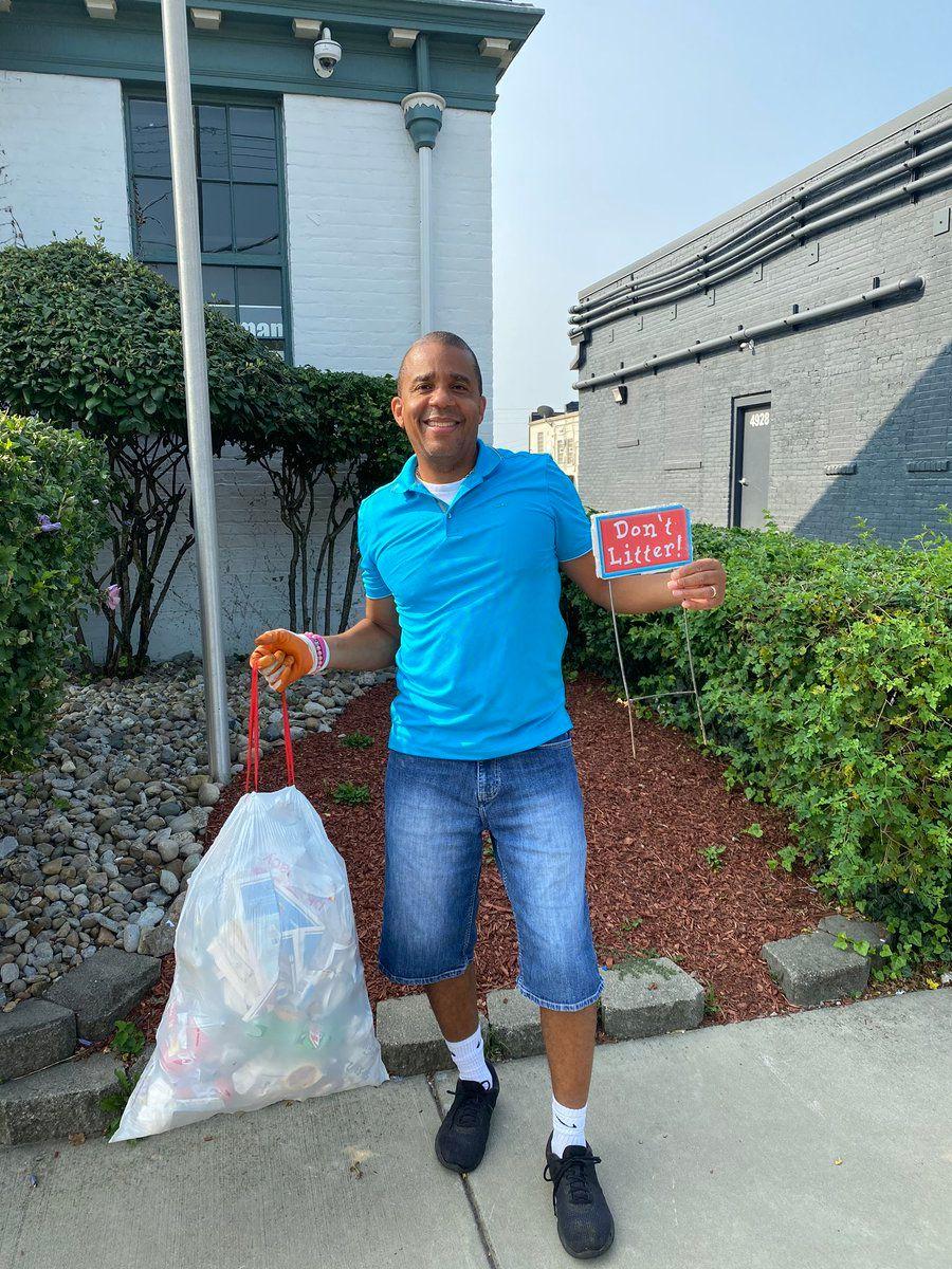 One Bag of Trash Challenge!