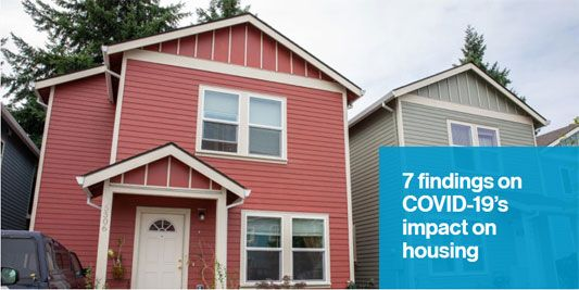 7 findings on COVID-19's impact on housing