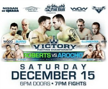 Victory Fighting Championship December 15th to Benefit SONE!
