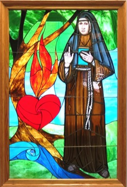 Stained Glass Window Featuring Blessed Mary Angela Installed at FSI