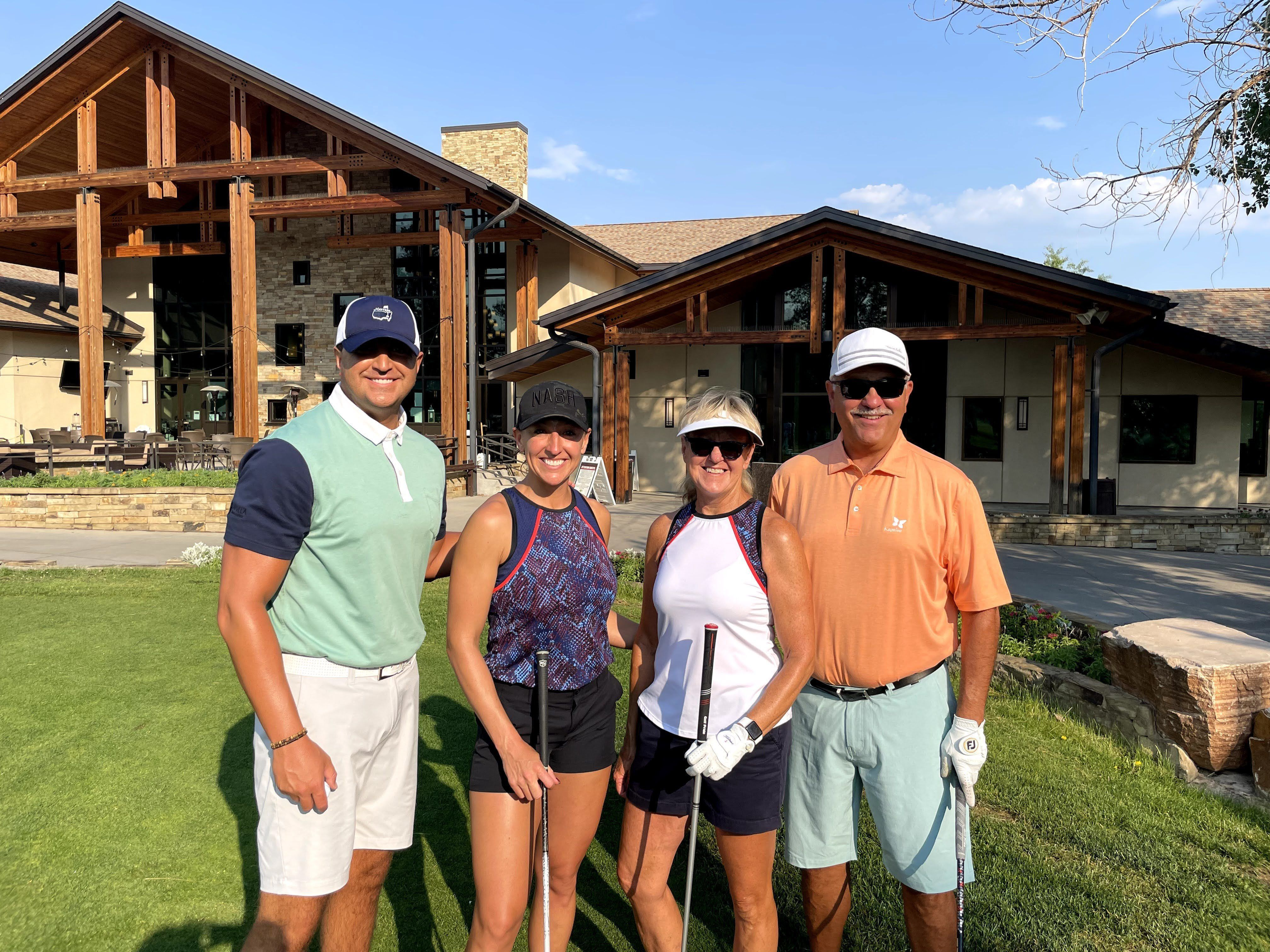 Our Golf Tournament was a huge success!