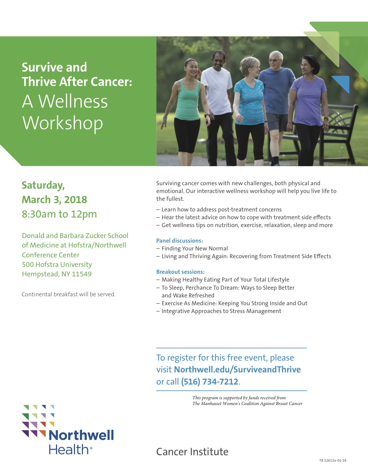 Survive and Thrive After Cancer: A Wellness Workshop