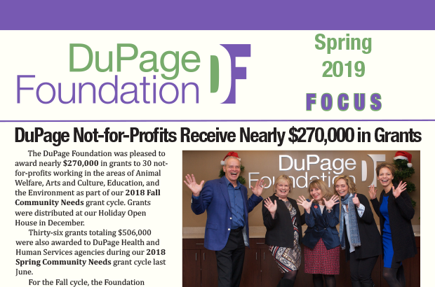 Spring 2019 Focus Newsletter Now Available
