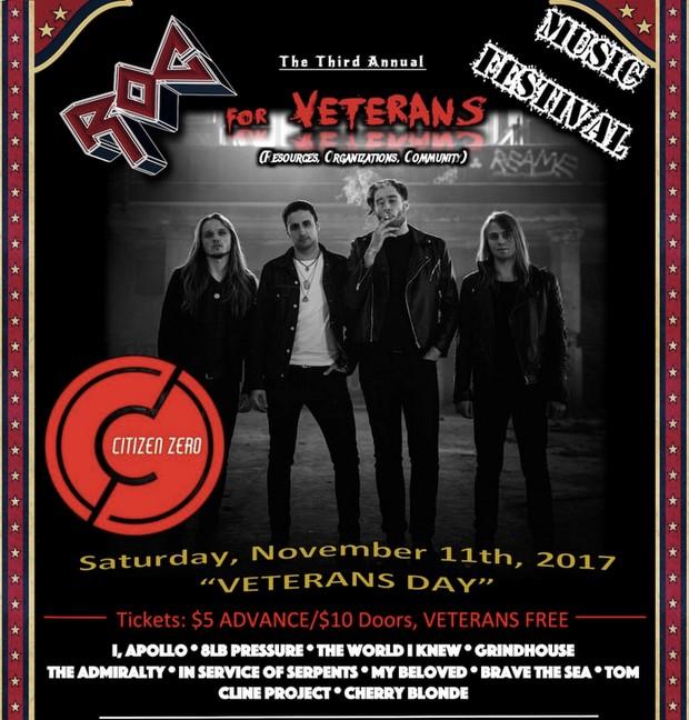 Upcoming Event: ROC for Veterans Music Festival