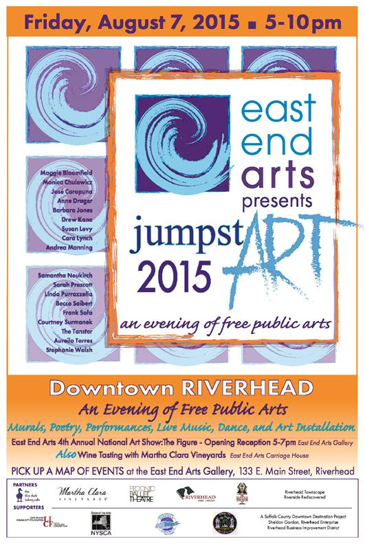 EEA Presents JumpstART, an evening of free public arts