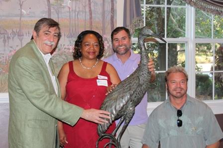 WSA's Waterbirds Sculpture