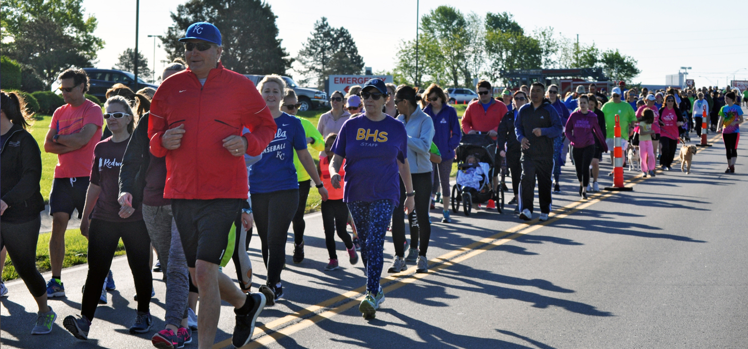Walk or run for Cass County youth.