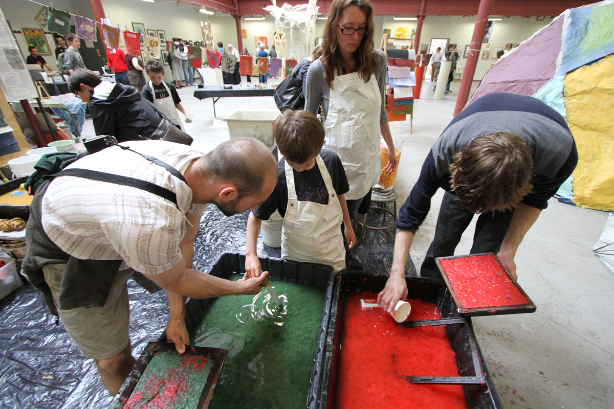 New Mobile Arts Tool to Engage Residents on Decline of Native Prairie through Paper Making
