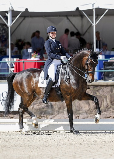 Adrienne Lyle Receives Patsy Albers Award   From The Dressage Foundation