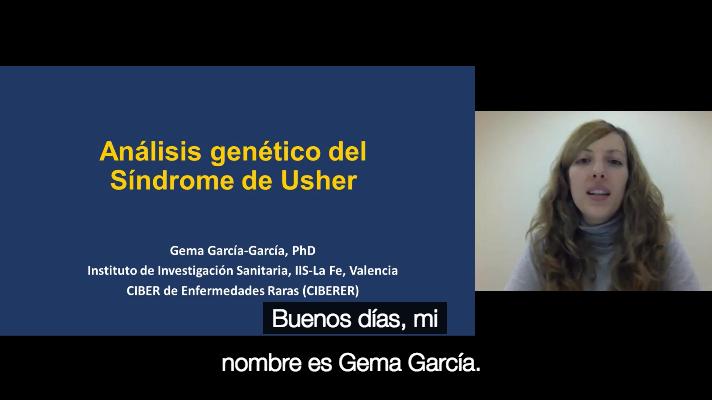 Análisis genético del Síndrome de Usher, Valencia (Español)