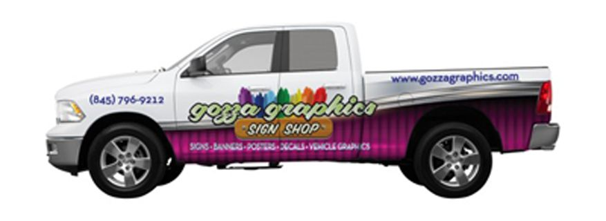Vehicle Half Wrap (My Truck!)