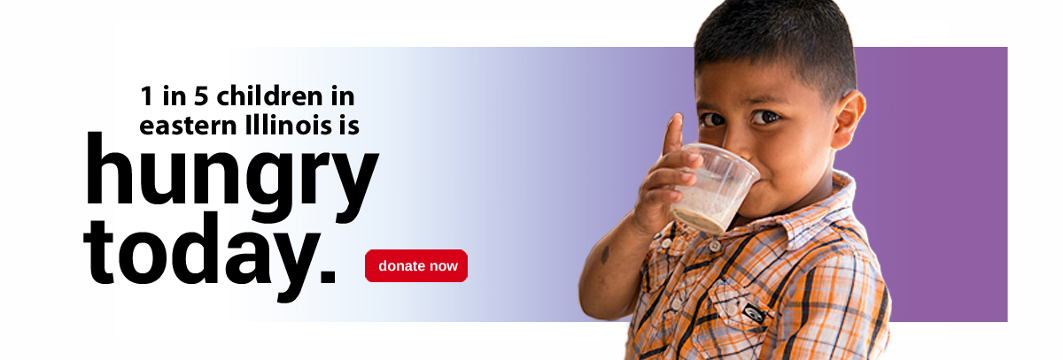 1 in 5 children - donate