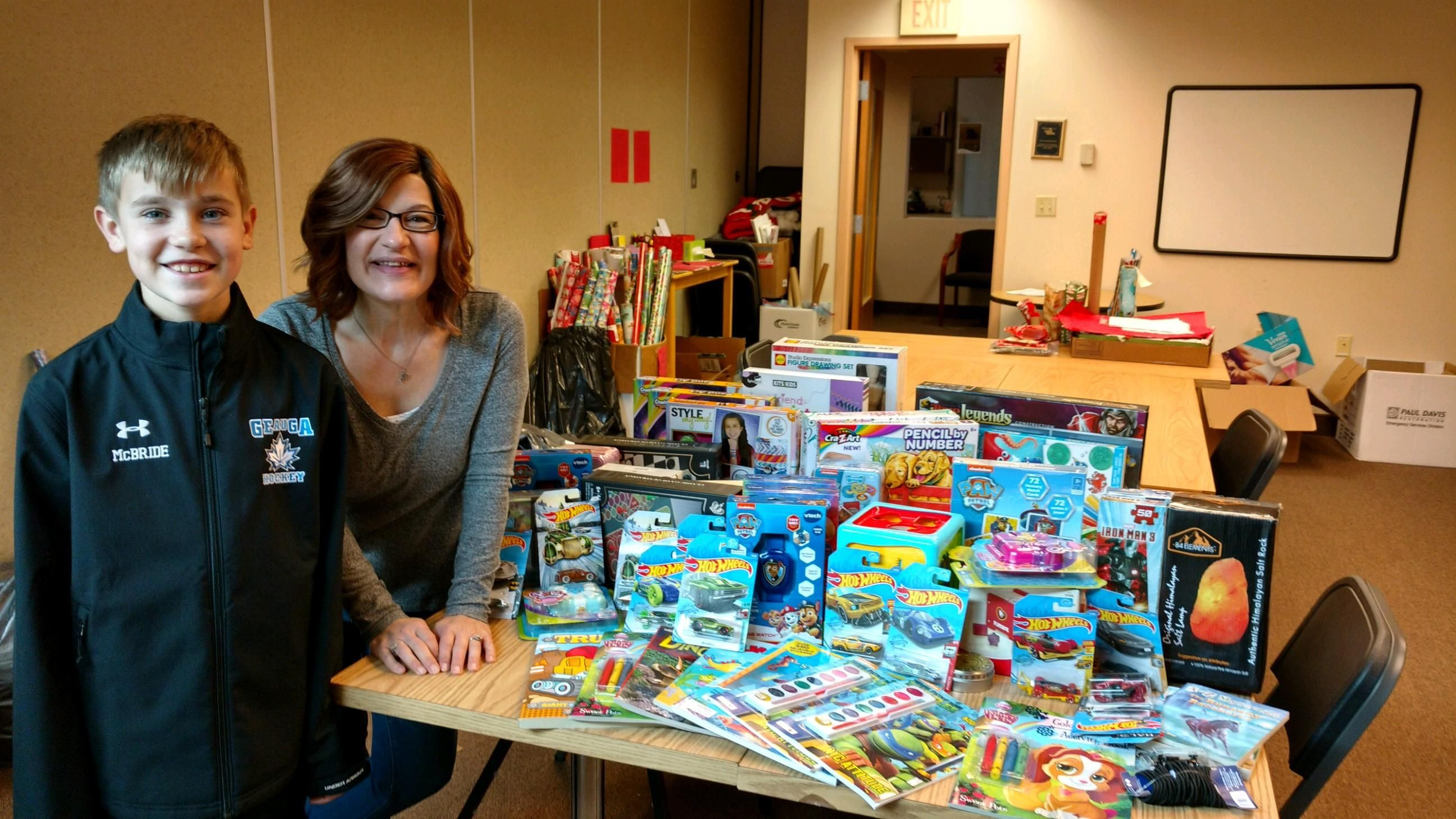 How One Grade Schooler Made a Difference at WomenSafe this Holiday Season