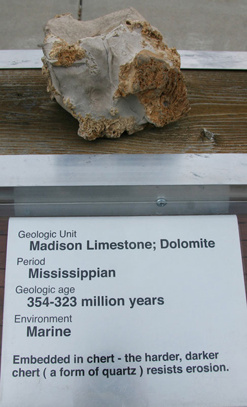 Madison Limestone; Dolomite - Mississippian
