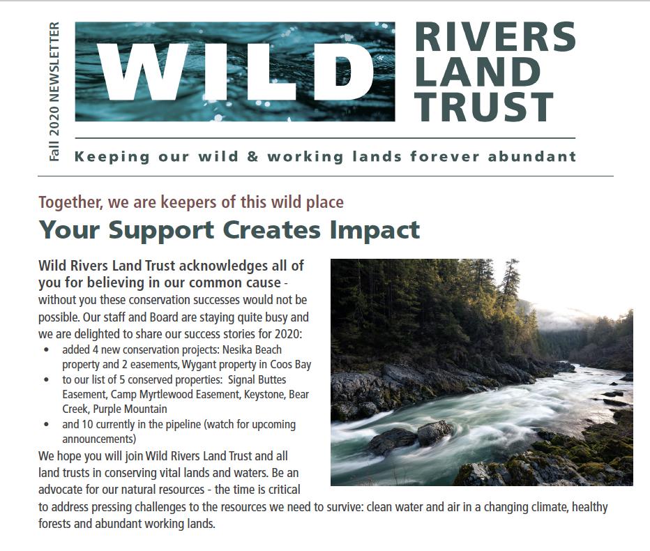 WRLT Fall 2020 Newsletter