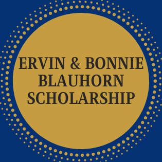 Ervin & Bonnie Blauhorn Scholarship