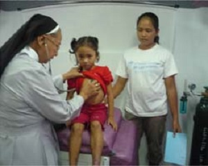 Mission Hospital in Samar