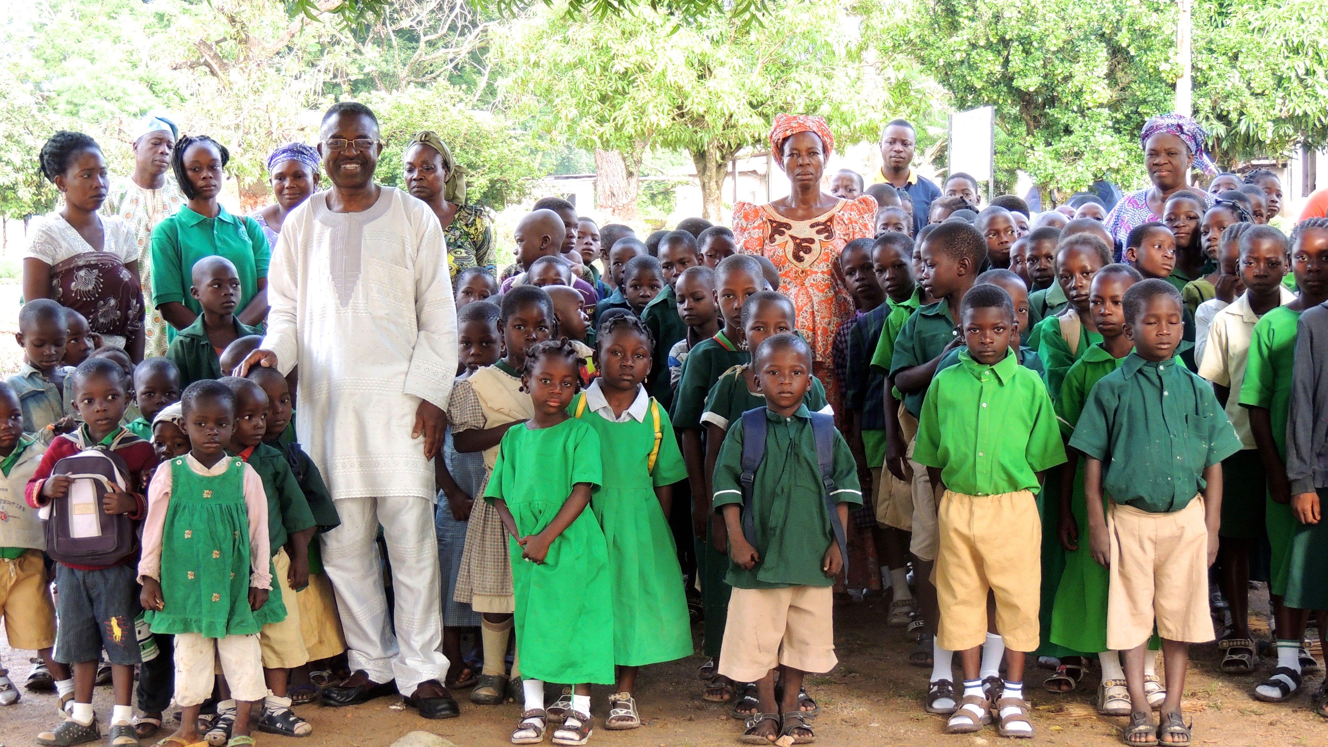 Public Basic Education in Nigeria, West Africa.